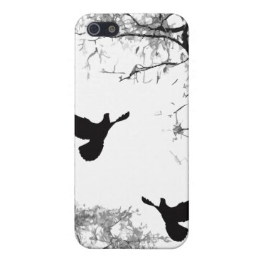 Doves - Chinese Painting iPhone Case