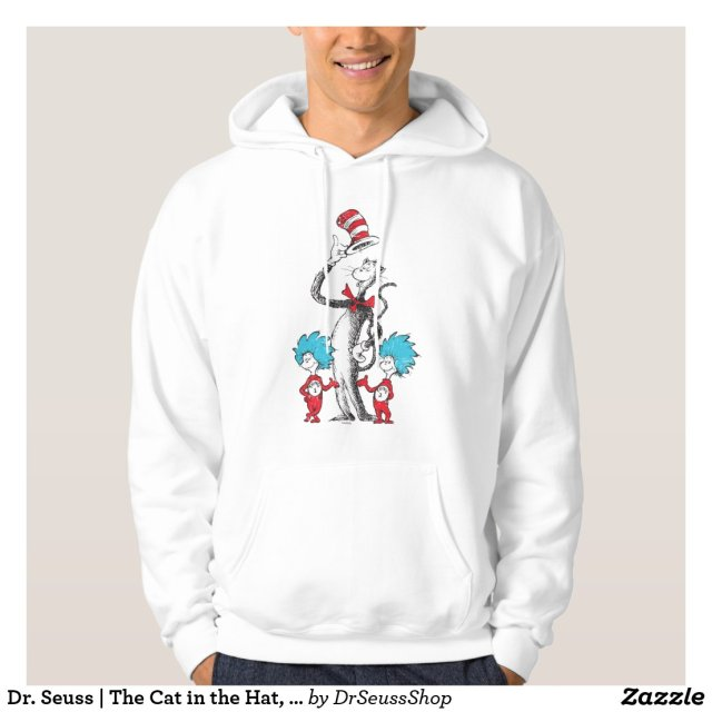Dr. Seuss | The Cat in the Hat, Thing 1 & Thing 2 Hoodie