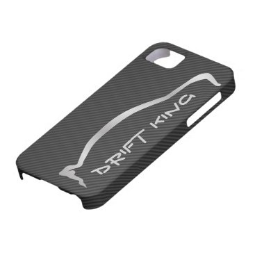 """Drift King"" Evolution X Gray Silhouette iPhone SE/5/5s Case"