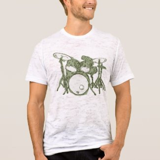 Drum Set Fashion T shirt