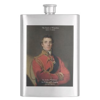 Duke of Wellington Waterloo Flask