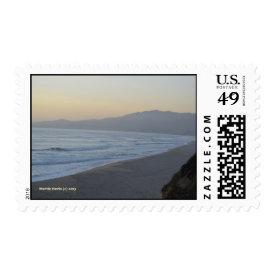 Dusky Beach Postage Stamp