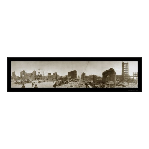 San Francisco Earthquake Print