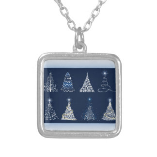 Eight Christmas Trees Pendants