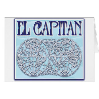 """El Capitan"" Greeting Cards"