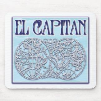 """""""El Capitan"""" Mousepad"""