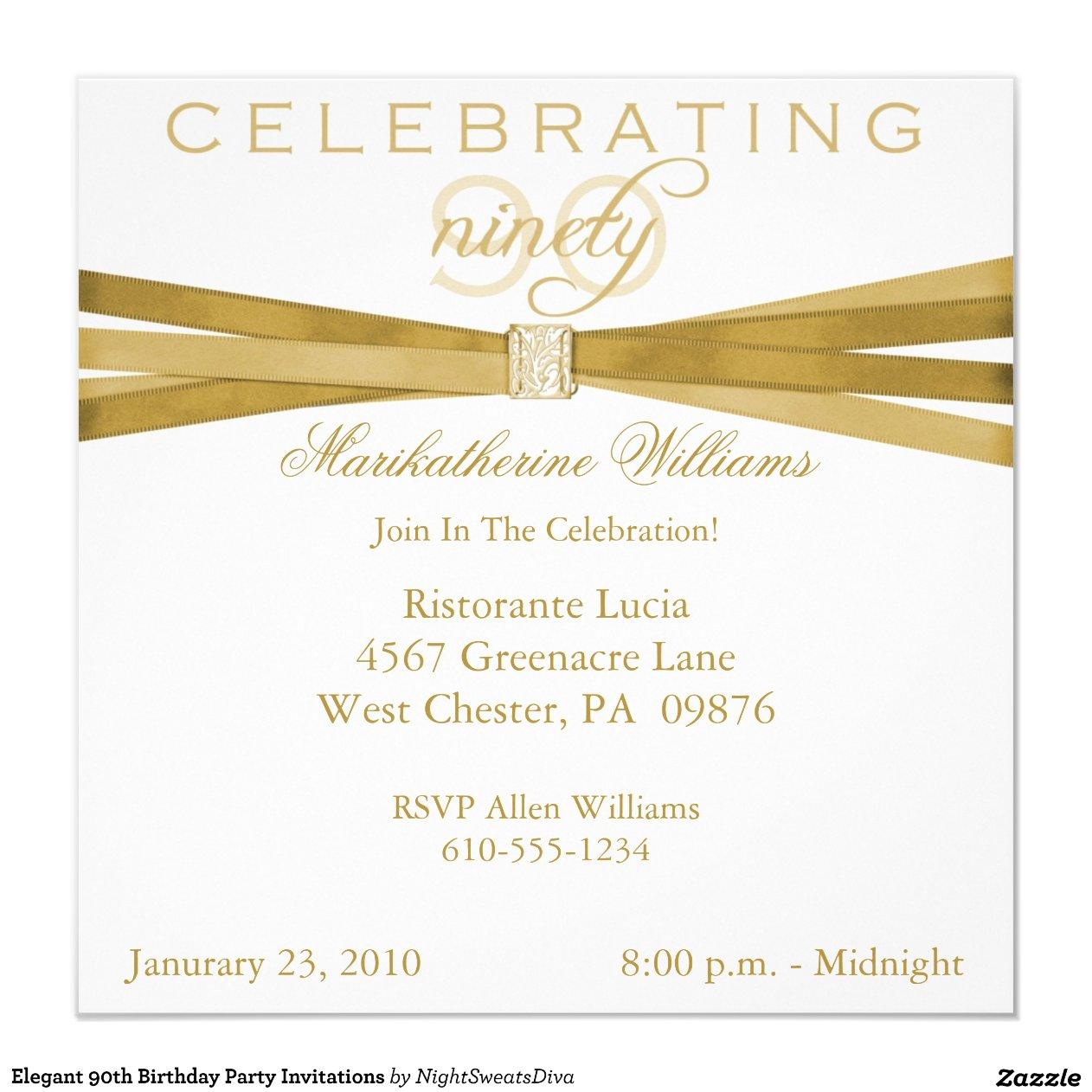Pre Made Invitations