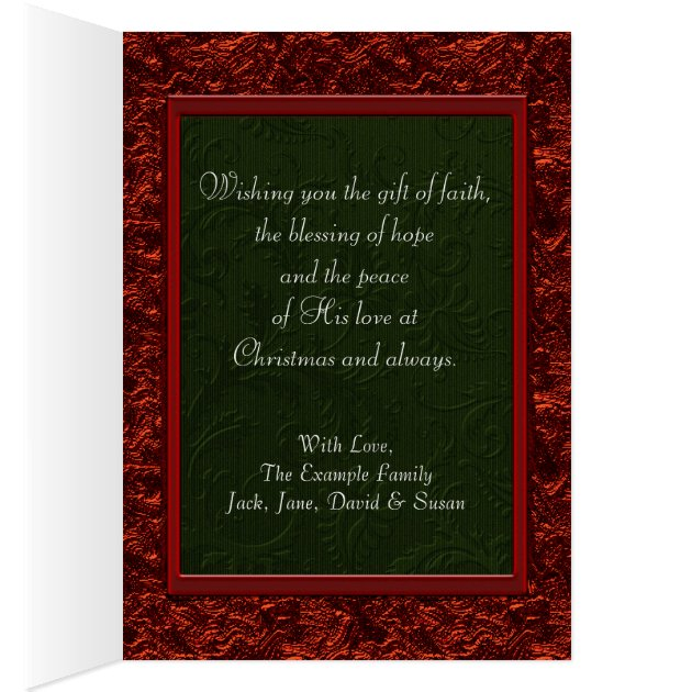 Elegant Christian Christmas Cards Zazzle