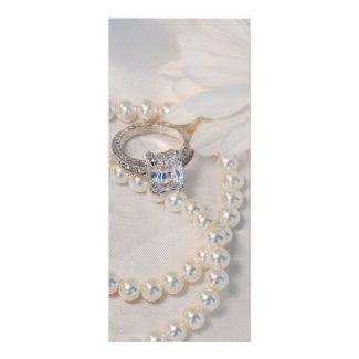 Elegant Daisy Wedding Program Invitations