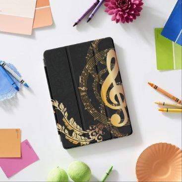 Elegant Music Note design iPad Air Cover