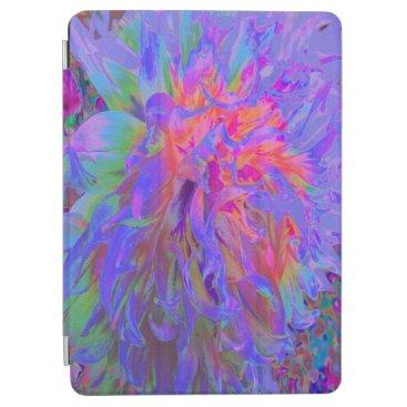 Elegant Psychedelic Decorative Dahlia Flower iPad Air Cover