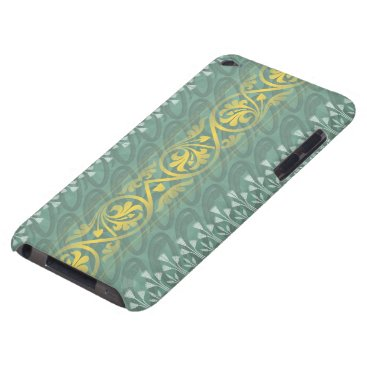 Elegant Teal Butter Damask Case-Mate  iPod Touch