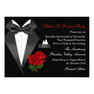 Black tie invited dress