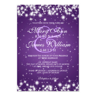 Purple And Black Wedding Invitations Is The Fresh Ideas Of Impressive Invitation With