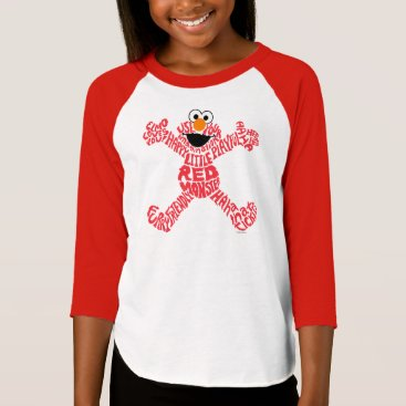 Elmo Pattern Fill T-Shirt