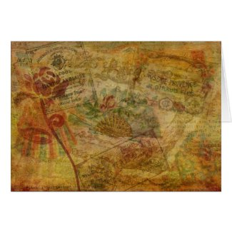 Eloquent Tapestry Greeting Card
