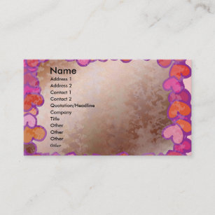 Elove Dating Escort Services Wedding Planner Business Card