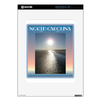 Emerald Isle Beach, NC at Sunset Decal For The iPad