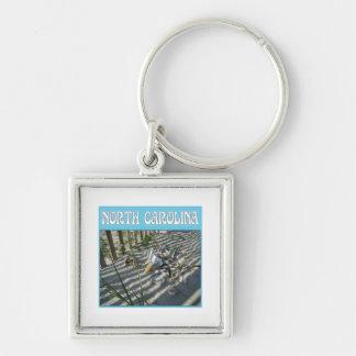 Emerald Isle Beach Seashell Collection Key Chain