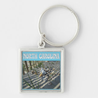 Emerald Isle Beach Seashell Collection Keychains