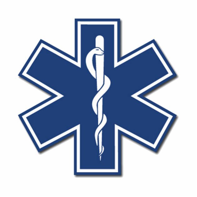 EMS Star Of Life Cutout