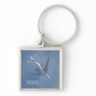 Endeavour Space Shuttle Keychain