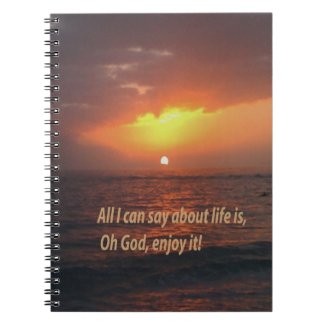Enjoy LIfe Spiral Note Books