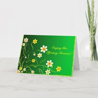 Enjoy the Spring Season! - Card card