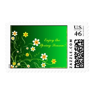 Enjoy the Spring Season! stamp
