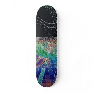 Eternal Artistec NightTime Skateboard CricketDiane skateboard