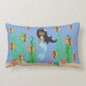 Ethnic Mermaid Under The Sea Pillows