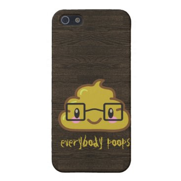 Everybody Poops Case For iPhone SE/5/5s