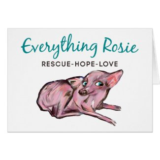 Everything Rosie Note Card