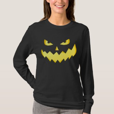 Evil Jack-o'-lantern Halloween shirts