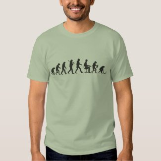 Evolution of Man Laptop T-Shirt