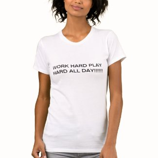 Evopro Work Hard zazzle_shirt