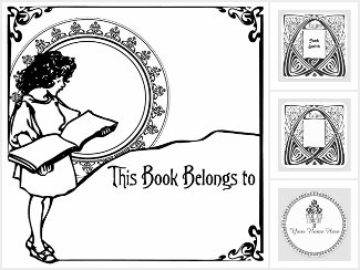 Ex Libris Bookplates for Your Home Library