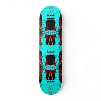 Extreme Designs Skateboard Deck 628 CricketDiane