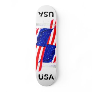 Extreme Designs Skateboard Deck USA 2 CricketDiane