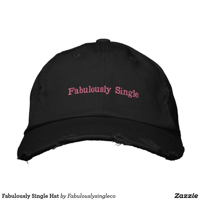 Fabulously Single Hat