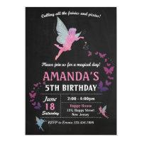 Fairies Birthday Invitation