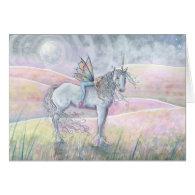 Fairy and Unicorn Card