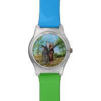 Fairy with Unicorn Wristwatch