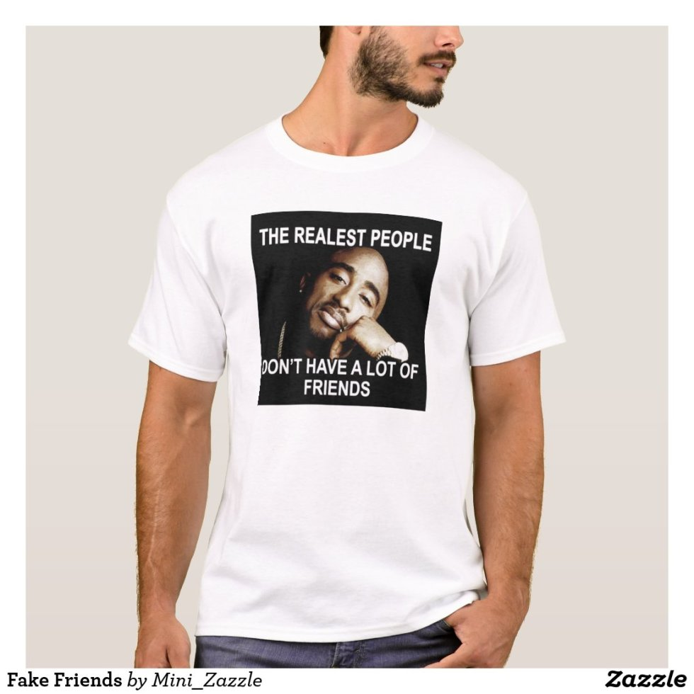 2 Pac Realest People T-Shirt