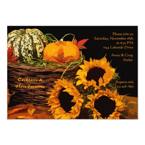 Fall Delights Invitation