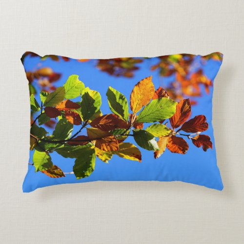 Fall Leaves Decorative Pillow