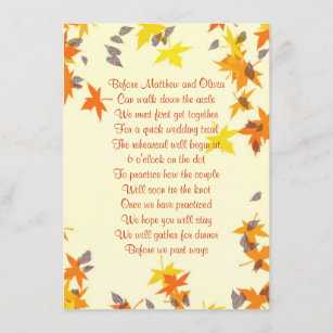 rhyme poem invitations zazzle