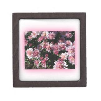 Fall Mums At Sunset Premium Trinket Box