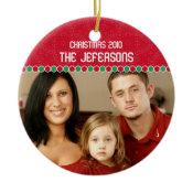 Family Photo Christmas Ornament ornament
