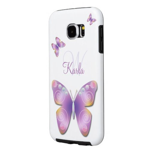 Fantasy Butterfly Personalized Tough Galaxy S6 Samsung Galaxy S6 Cases